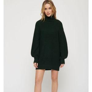 Dynamite Cocoon Sweater Dress